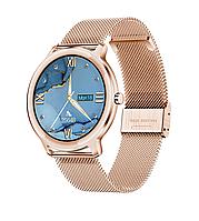 Умные часы Lemfo R18 Metal с пульсоксиметром (Золотой), фото 1