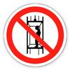 """Заборонний знак """"забороняється транспортування пасажирів"""""""