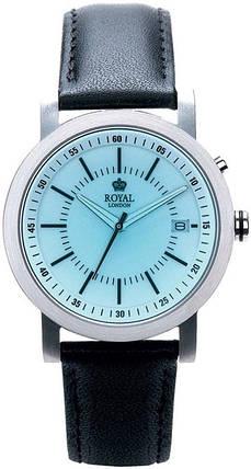 Часы кварцевые с электро-люминесцентной подсветкой ROYAL LONDON 41037-01, фото 2