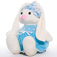 Зайчишка Малышка. Мягкая игрушка в платье