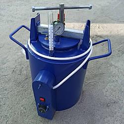 Автоклав електричний для домашнього консервування на 8 літрових або 16 півлітрових банок