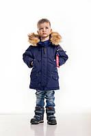 Дитяча зимова парку Olymp — Аляска N-3B KIDS, Navy, фото 1