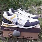Кроссовки кожаные Bona р.44 белые, фото 2
