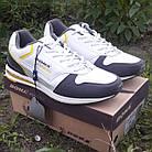 Кроссовки кожаные Bona р.44 белые, фото 3