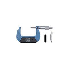 Микрометр с точностью 0,01 мм YATO YT-72302