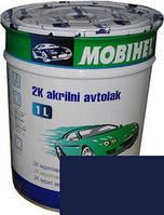Автоэмаль акриловая Mobihel 0,75л 447 Синяя ночь, без отвердителя