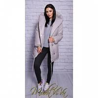 Курточка женская Зефирка 1 серая, модные куртки