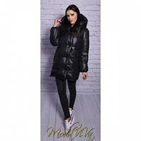 Курточка женская Зефирка 1 черная, модные куртки