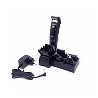 Бездротова акумуляторна машинка для стрижки Gemei GM-801 5 в 1