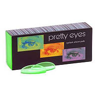 Pretty Eyes Набір валиків 8 пар (ультрам'які), зелені