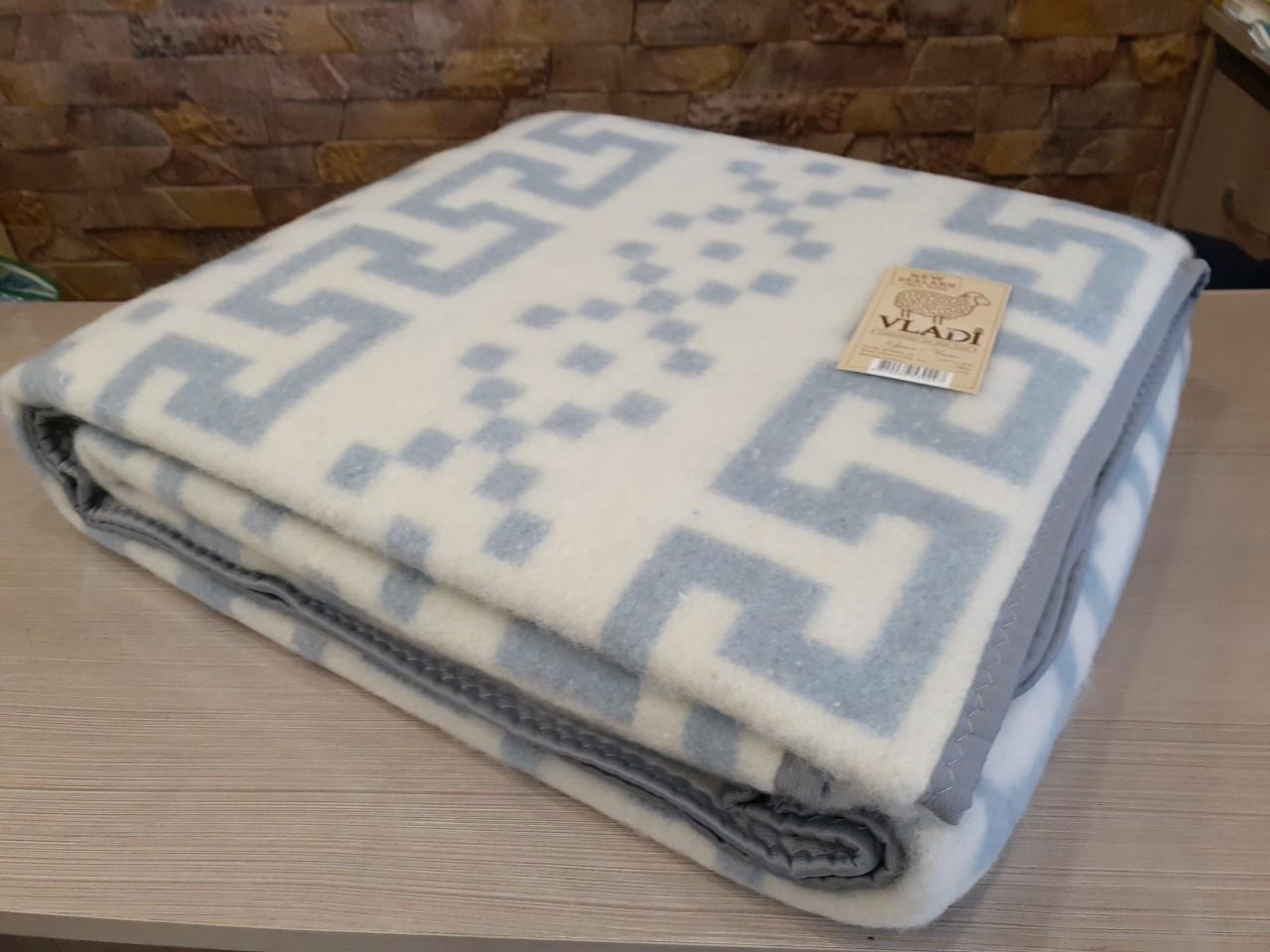 Одеяло шерстяное жаккардовое классической коллекции Vladi Чили