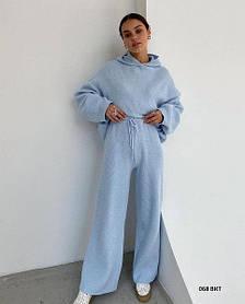Женский костюм Вязка худи+штаны, размер 42-46
