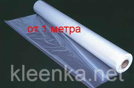 Пленка полиэтиленовая для паро- и гидроизоляции  80 мкм толщина, 3 м ширина, 1,5 м рукав