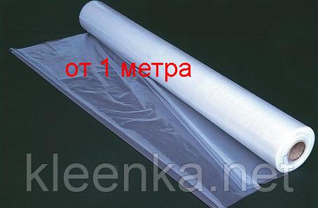 Пленка полиэтиленовая для паро- и гидроизоляции  80 мкм толщина, 3 м ширина, 1,5 м рукав, фото 2