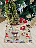 """Салфетка под тарелку  """"Рождественская история"""", люрекс, 34х44 см, фото 2"""