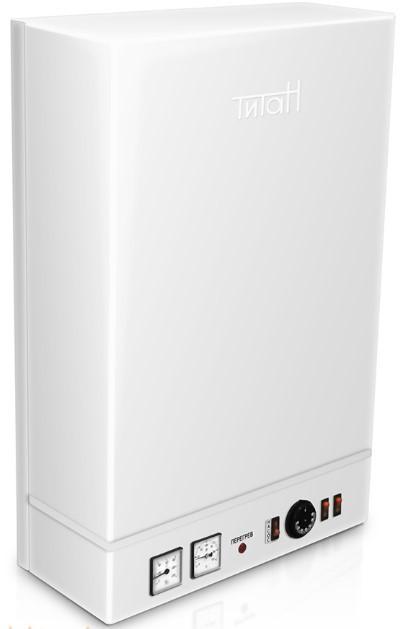 Настінний електричний котел ТИТАН 9 кВт 380В (4,5+4,5)