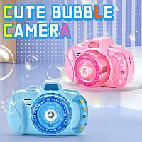 Детский фотоаппарат для мыльных пузырей, генератор Bubble Camera ON