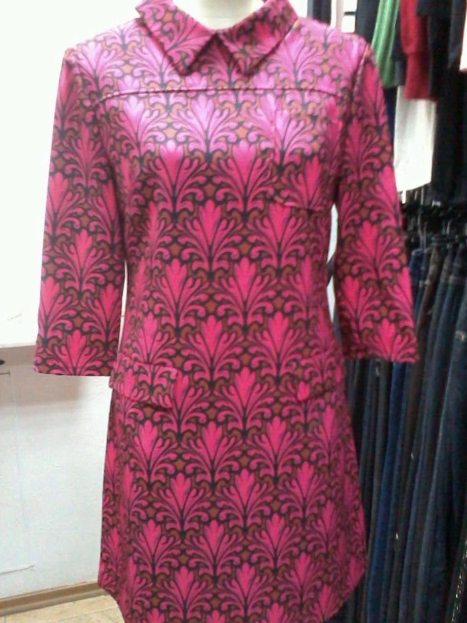 Платье LUX копия бренда короткое рукав 3/4 молодежное цветное
