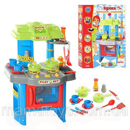 Іграшкова Кухня 008-26 А Синя Звук, світло