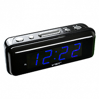 Часы электронные VST-738-5 синие, 220V