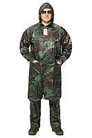 Непромокальний костюм (плащ і штани) з пвх камуфляж REIS
