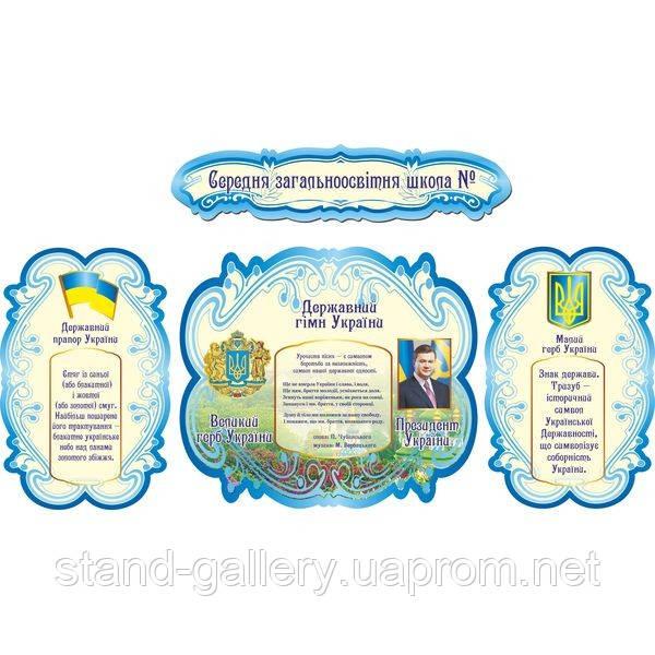 Стенд для оформления класса Государственная символика