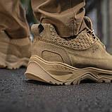 Тактические кроссовки M-Tac Patrol R Vent, Coyote, фото 8