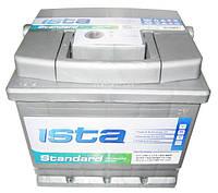 Автомобильный стартерный аккумулятор ISTA Standard 6СТ-50 A1 550 04 04 R+