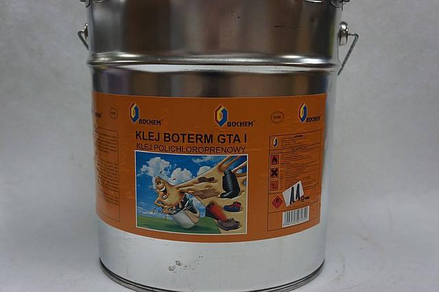 Клей для обуви полихлоропреновый (наирит) BOTERM «GTA-1», 11 кг.  ведро, фото 2