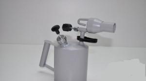 Лампа паяльная 1,5л AG-0010 SV