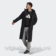 Длинный мужской пуховик Adidas Big Baffle Coat GT6536 2021 2