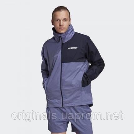 Куртка-дождевик adidas Terrex Multi RAIN.RDY Primegreen GU6483 2021 2, фото 2