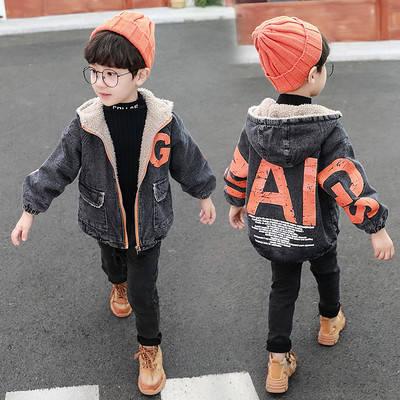 Детская демисезонная джинсовая куртка  Рома, фото 2