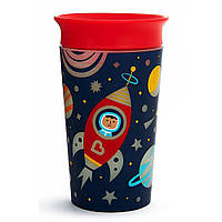 Чашка непроливная красная 266 мл Munchkin Miracle 360 Glow in the Dark (735282211935), фото 1