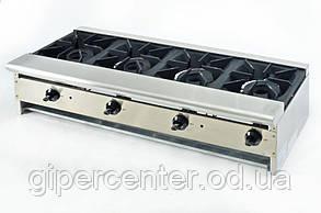 Плита настольная газовая 4-х конфорочная длинная TТ-4-48 CustomHeat