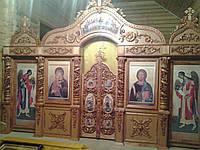 Иконостасы с резными полу колоннами