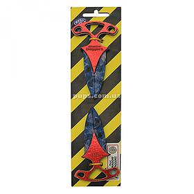Іграшковий ніж дерев'яний «Тичковий Кристал» Counter-Strike, 2 шт., 12 см (DAG-C)