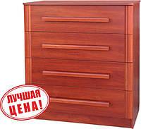 Серия комодов (4 ящика) с МДФ - ручкой «Экстра»