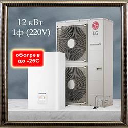 LG Therma V тепловий насос HU121MA.U33 / HN1616.NK3 4е покоління 12 кВт 1ф, обігрів до -25С