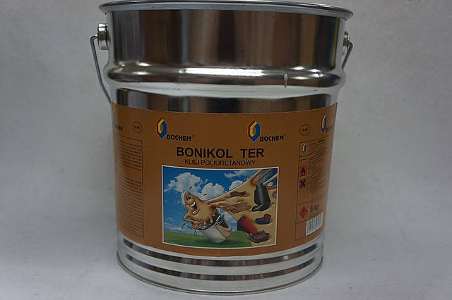 Клей для обуви полиуретан (десмакол) BONIKOL TER, 11 кг. ведро, фото 2