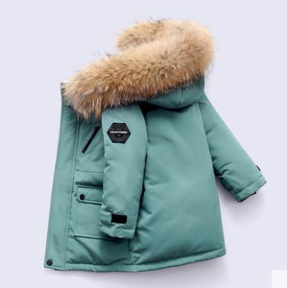 Куртка-пуховик для хлопчиків з мембраною Макс