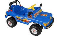 Автомобиль педальный Pilsan Сафари синий