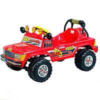 Автомобиль педальный Pilsan Сафари красный