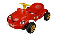 Автомобиль педальный Pilsan Херби Хэппи красный