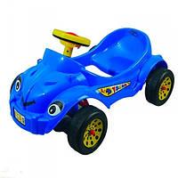 Автомобиль педальный Pilsan Херби Хэппи синий