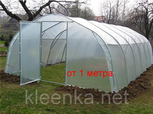 Пленка полиэтиленовая прозрачная для теплиц и строительства  в рулонах 150 мкм толщина, 3 м ширина