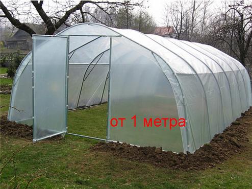 Пленка полиэтиленовая прозрачная для теплиц и строительства  в рулонах 150 мкм толщина, 3 м ширина, фото 2