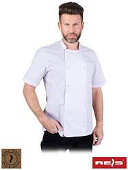 Мужская блуза для шеф-повара с короткими рукавами SEMPRE W