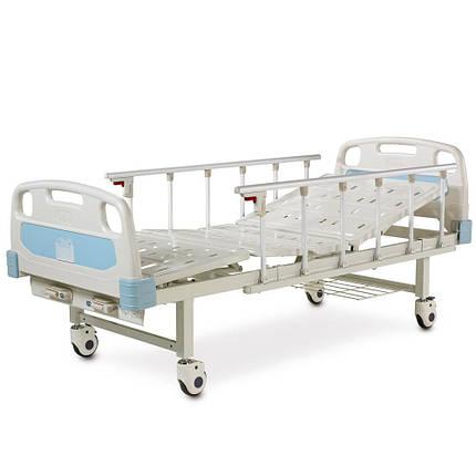 Медична механічна ліжко (4 секції) OSD-A232P-C, фото 2