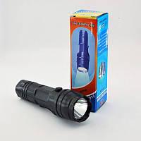 Фонарик LED (218) ручной пластиковый (1 светодиод)